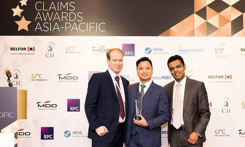 2017 Claims Awards Asia Pacific: Claims Innovation of the Year - winner, Insurer Claims Team of the Year - finalist