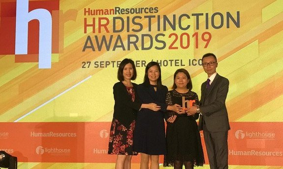 HR Distinction Awards 2019: Excellence in Employee Development – Sliver, Excellence in Talent Management – Bronze, Excellence in HR Strategic Plan – Bronze