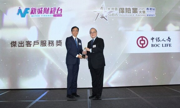 GBA Insurance Award 2020: Outstanding Customer Services Award
